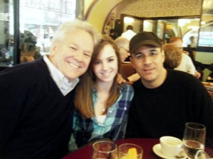 Andy and Cathryn Boettner, and John Bucchino enjoying brunch at Marseille Restaurant